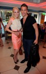 Strictly Come Dancing Camilla Dallerup and Dancing on Ice Matt Evers