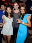 Mariama Goodman, Joe McElderry and Gemma Oaten