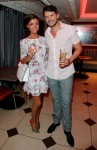 Towie star Lucy Mecklenburgh and Andy Newton lee