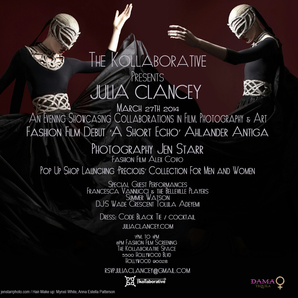 Julia Clancey fashion show